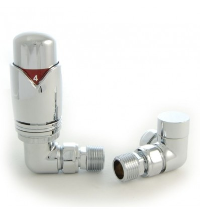 Thermostatic Corner Radiator Valve
