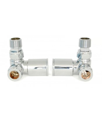 Manhattan Contemporary Corner Chrome Valve