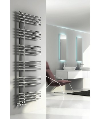 Elisa Chrome Heated Towel Rail