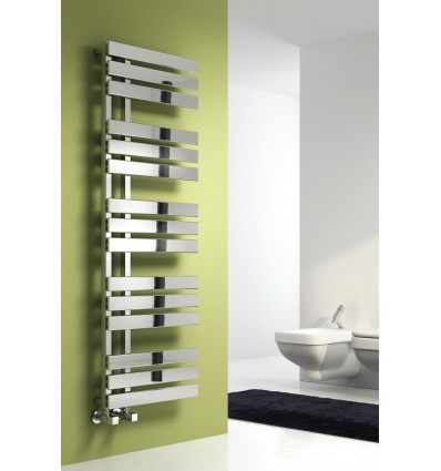 Sesia Chrome Heated Towel Rail