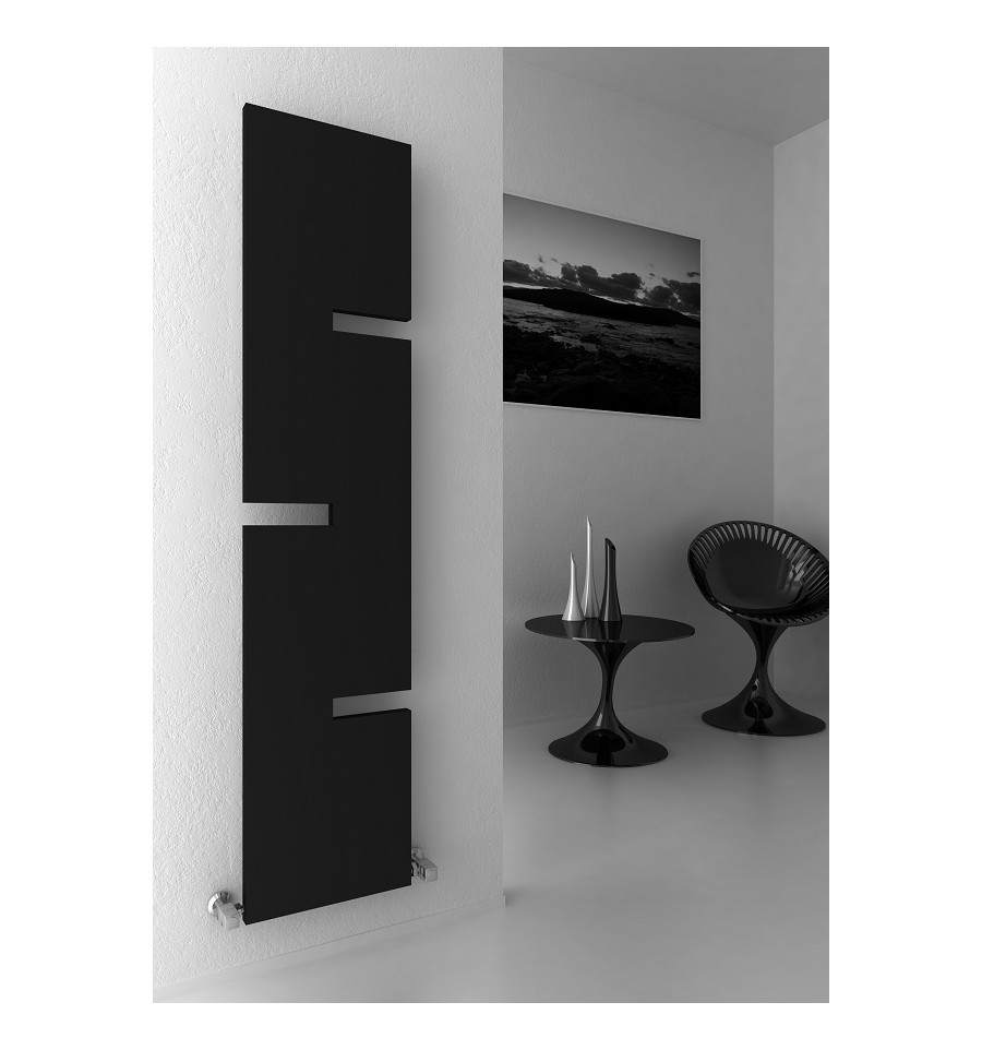 Beautiful Fiore Vertical Towel Rail Radiator