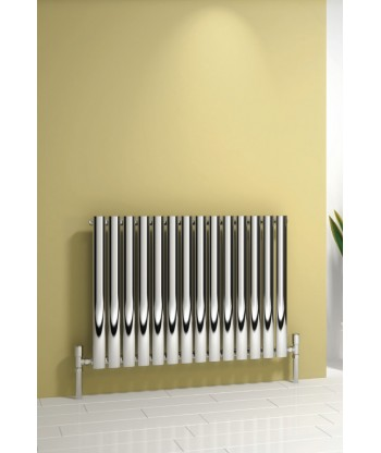 Neva Chrome Horizontal Single Radiator