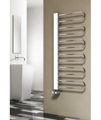 Larino Chrome Heated Towel Rail