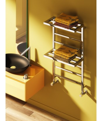 Elvina Designer Double Shelf Towel Rail