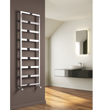 Rezzo Chrome Heated Towel Rail