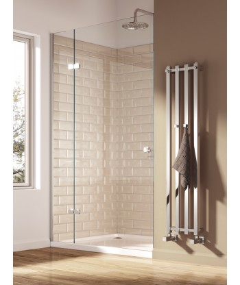 Todi Chrome Heated Towel Rail