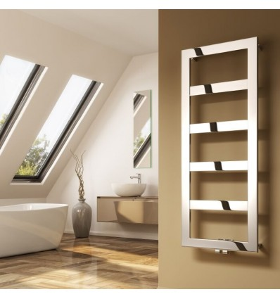 Rima Stainless Steel Heated Towel Rail