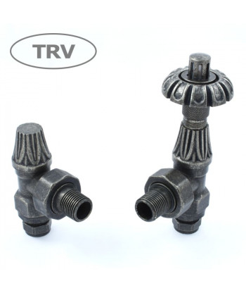 Abbey Thermostatic Radiator Valve (Pewter)