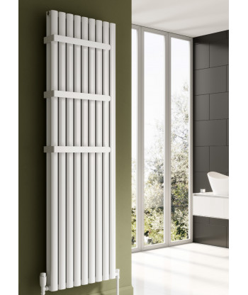 Neval Vertical Double Aluminium Radiator