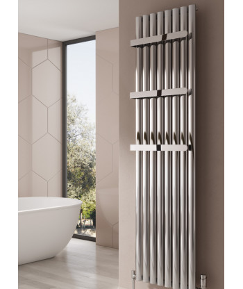 Neval Vertical Single Aluminium Radiator
