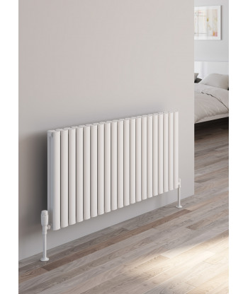 Neval Horizontal Double Aluminium Radiator