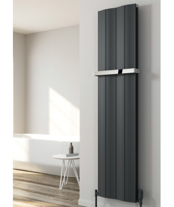 Wave Vertical Single Aluminium Radiator