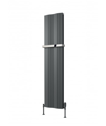 Wave Vertical Double Aluminium Radiator