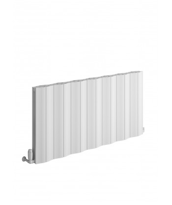 Wave Horizontal Single Aluminium Radiator