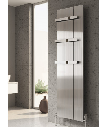 Polito Vertical Single Aluminium Radiator