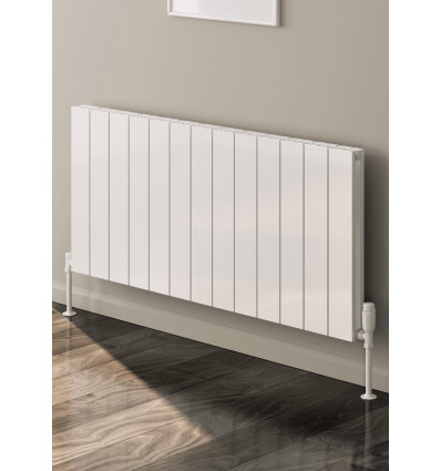 Casina Horizontal Double Aluminium Radiator