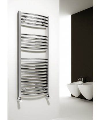 Diva Chrome Heated Towel Rail  (1000mm)