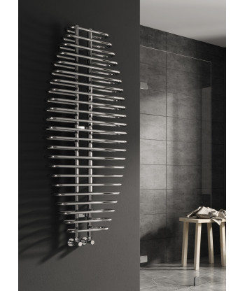 Teano Chrome Heated Towel Rail