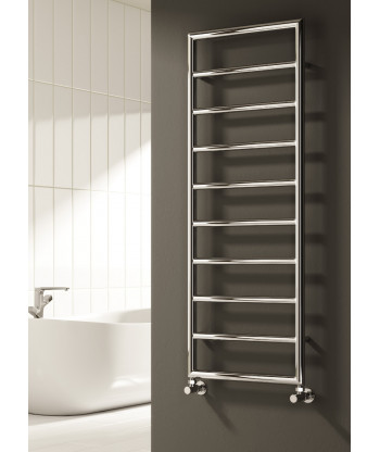 Nardo Chrome Heated Towel Rail