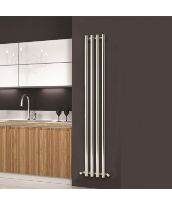Apollo Chrome Vertical Radiator