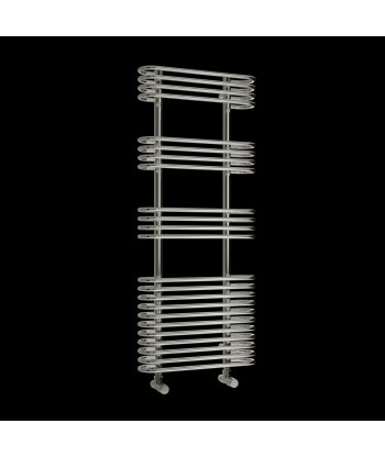 Rings Chrome Heated Towel Rail