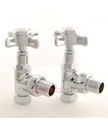 Cambridge Angled Valve Chrome (Angled)