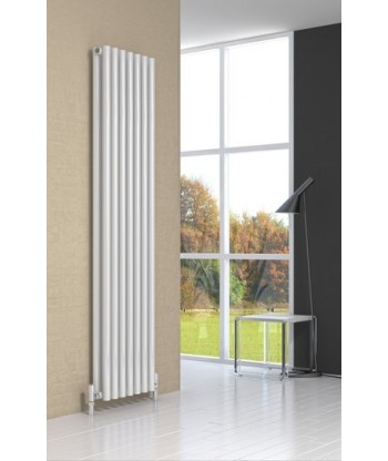Round Column Double Radiator