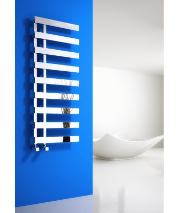 Florina Chrome Heated Towel Rail
