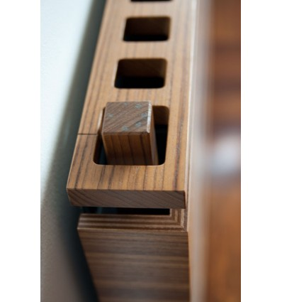 Groove Single Wooden Radiator